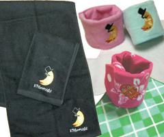 刺繍加工タオル